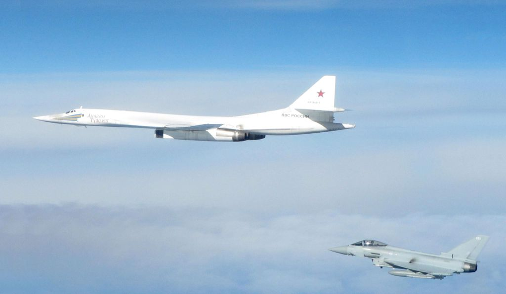 "The probe-and-respond game goes beyond the Baltics; nothing says ""Be ready"" to Britain's Royal Air Force like a Tu-160 bomber off the Scottish coast."