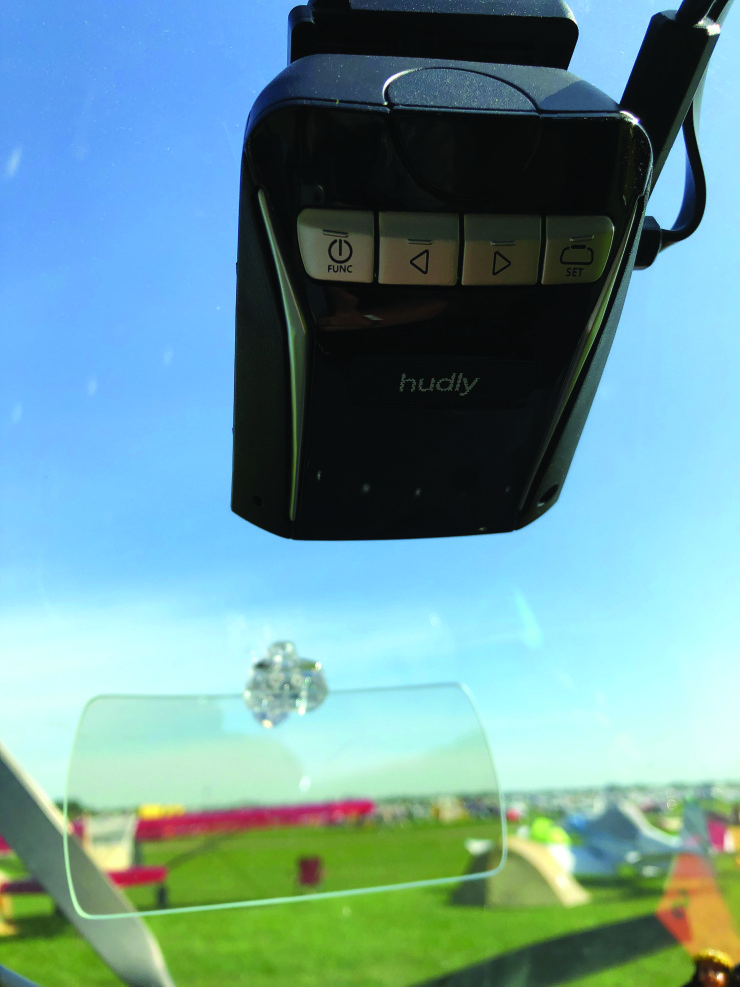 Homebuilt HUD – A $300 (really) head-up display for every