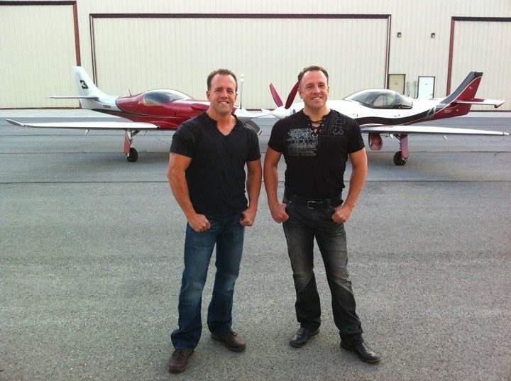 Twin Engines — The Super-Charged Patey Brothers Are Flying