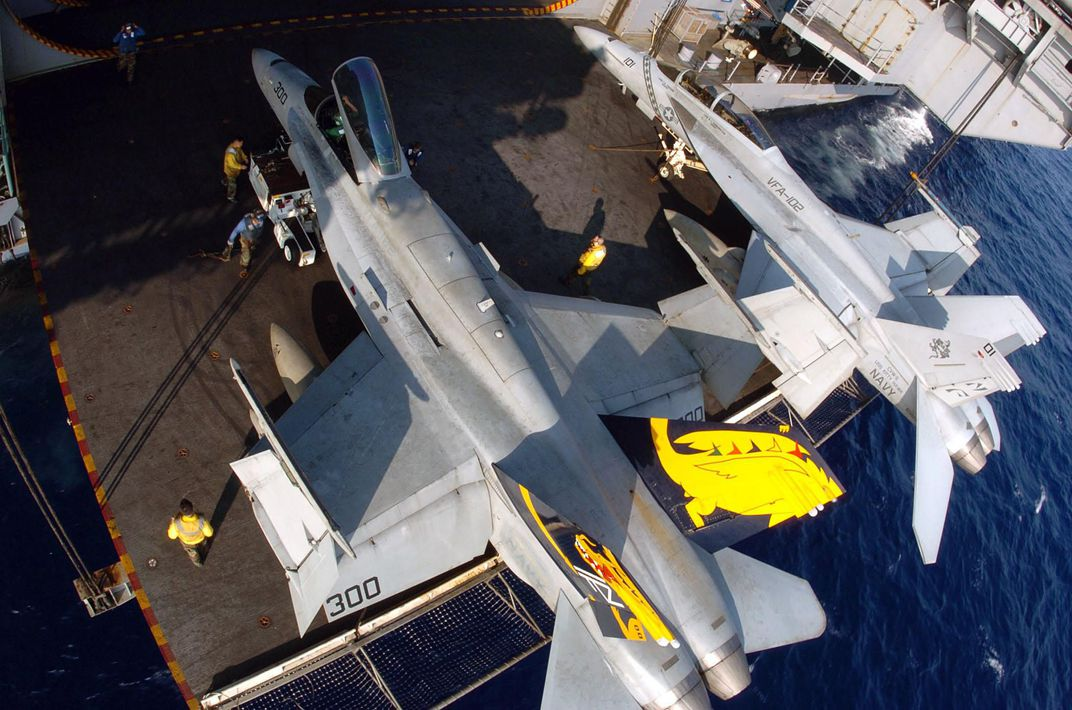 legacy and super hornets