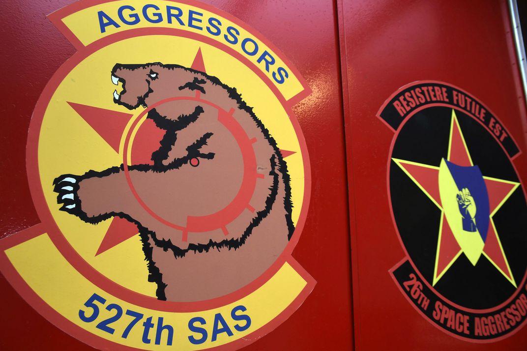 527 SAS Aggressors logo